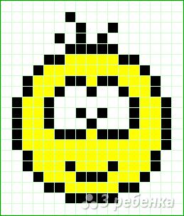 Схема фенечки прямым плетением 12960