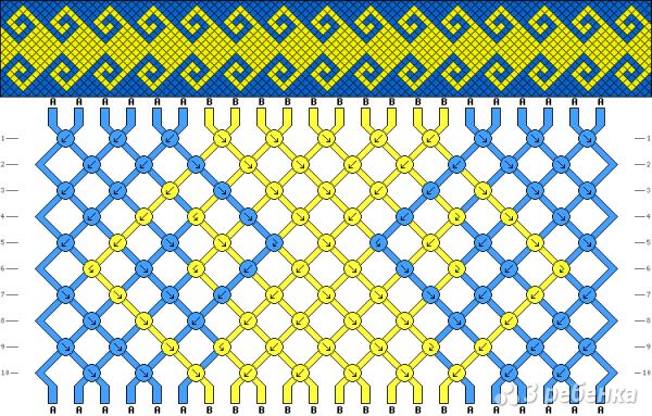 Схема фенечки 13417