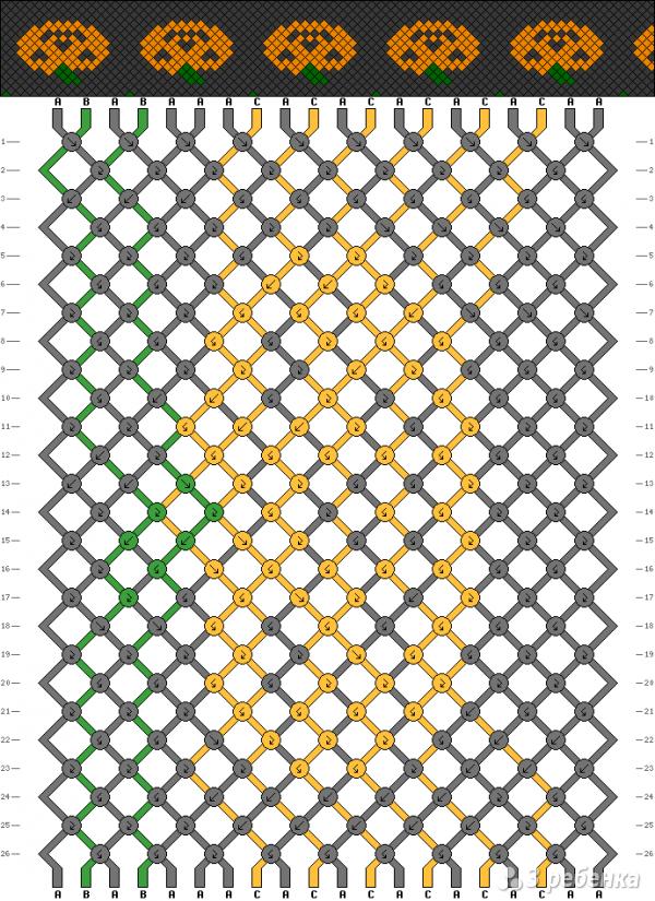 Схема фенечки 13353