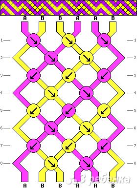 Схема фенечки 13348