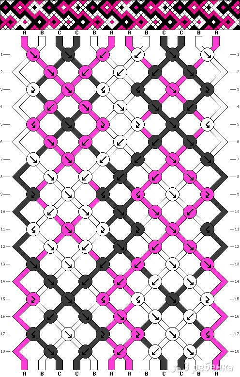 Схема фенечки 13310