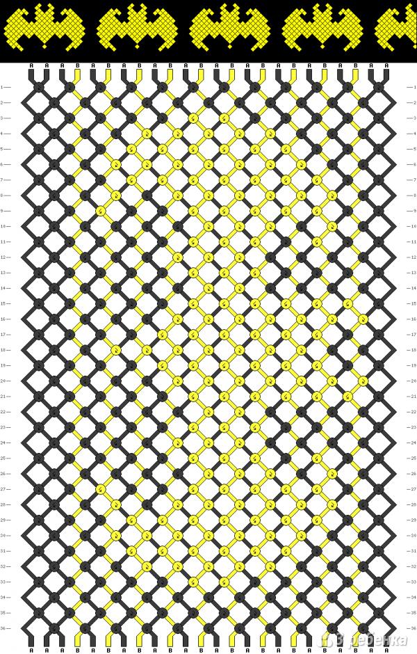 Схема фенечки 13775