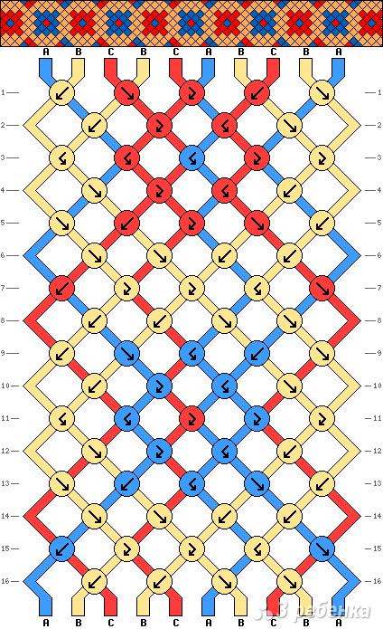 Схема фенечки 13671