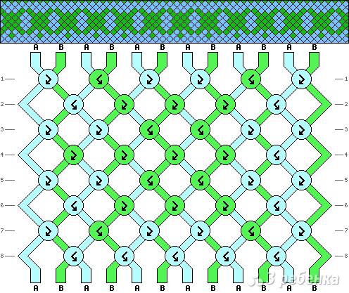 Схема фенечки 13570