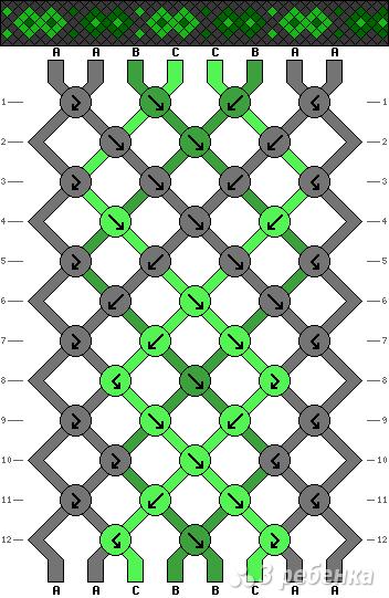 Схема фенечки 13593