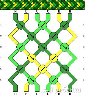 Схема фенечки 13598