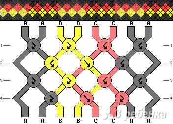 Схема фенечки 13791
