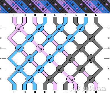Схема фенечки 13722