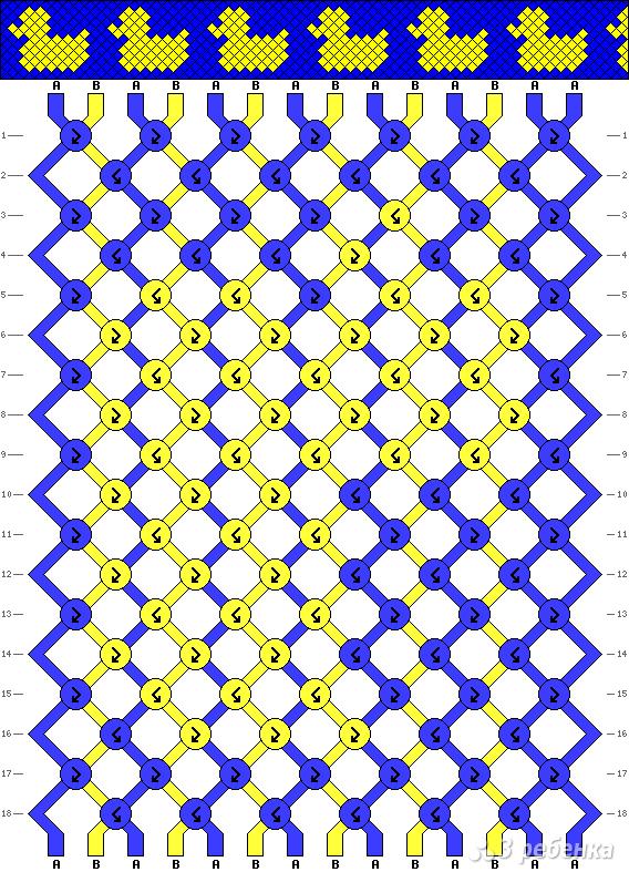 Схема фенечки 13717