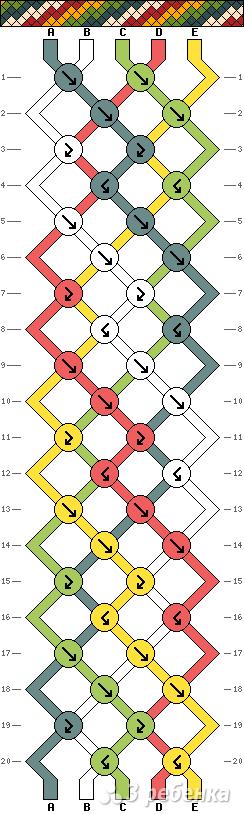 Схема фенечки 13465