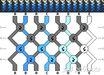 Схема фенечки 13477