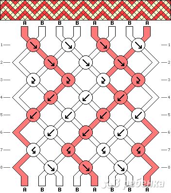 Схема фенечки 13492