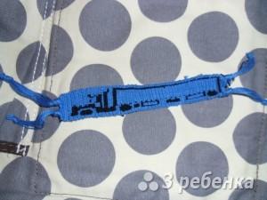 Схема фенечки прямым плетением 14396