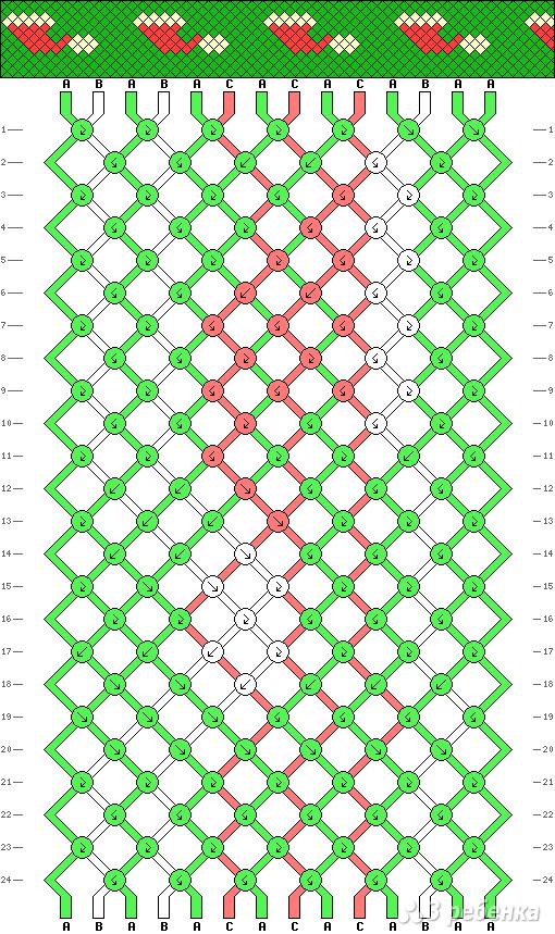 Схема фенечки 13636