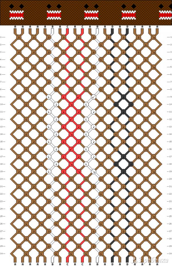 Схема фенечки 13659