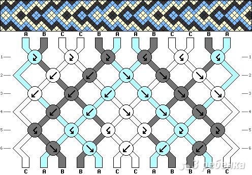 Схема фенечки 13616