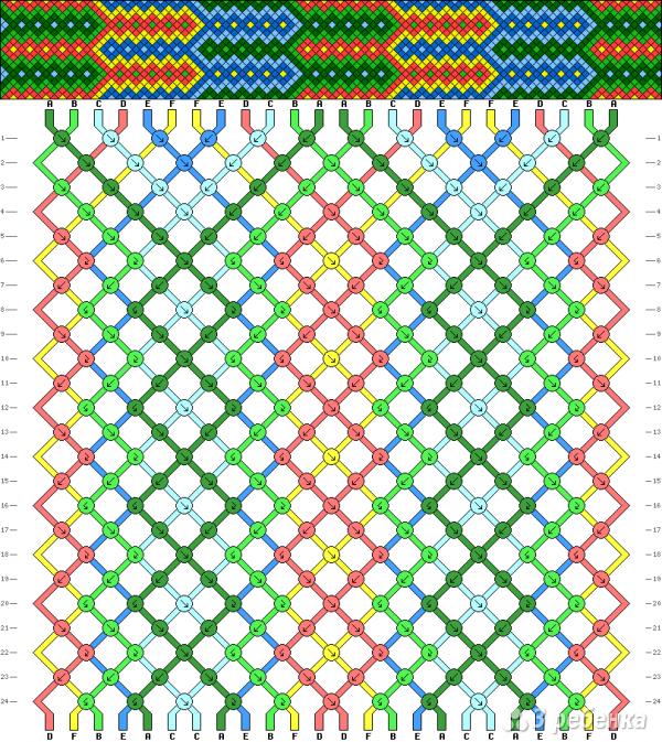 Схема фенечки 13831