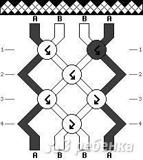 Схема фенечки 13735