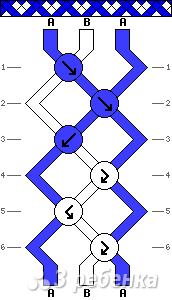 Схема фенечки 13695