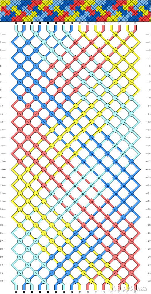 Схема фенечки 13609