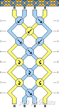 Схема фенечки 13543