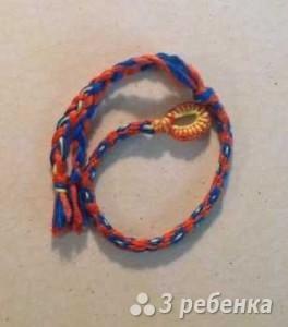 Схема фенечки кумихимо 15275