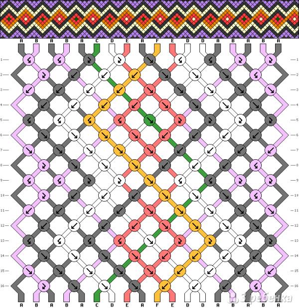 Схема фенечки 13665