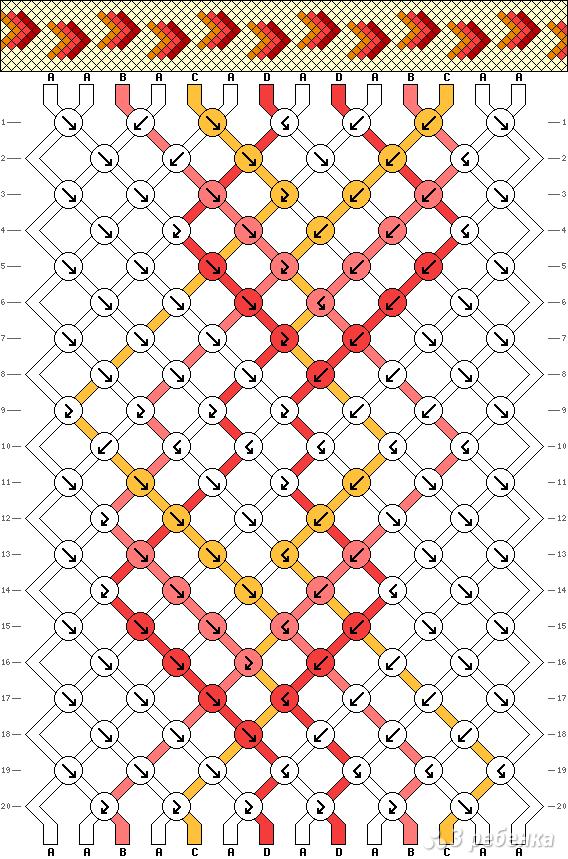 Схема фенечки 13563