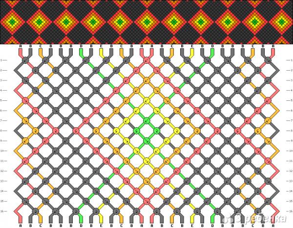 Схема фенечки 14171
