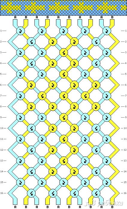 Схема фенечки 14054