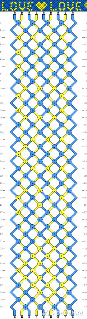 Схема фенечки 13872