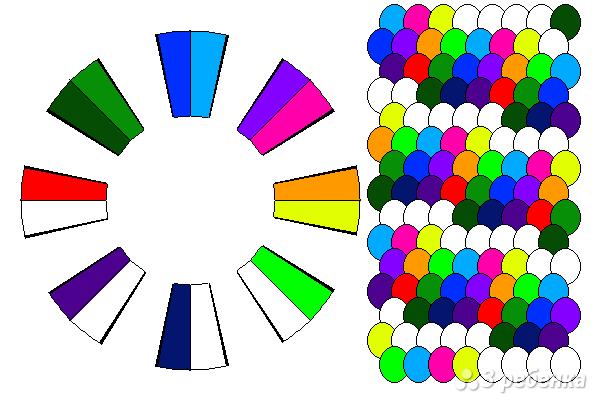 Схема фенечки кумихимо 15671
