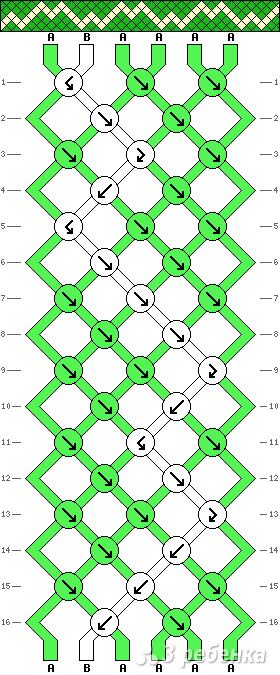 Схема фенечки 13952