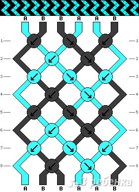 Схема фенечки 13898