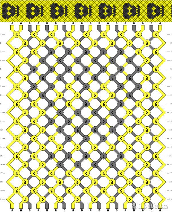 Схема фенечки 13933