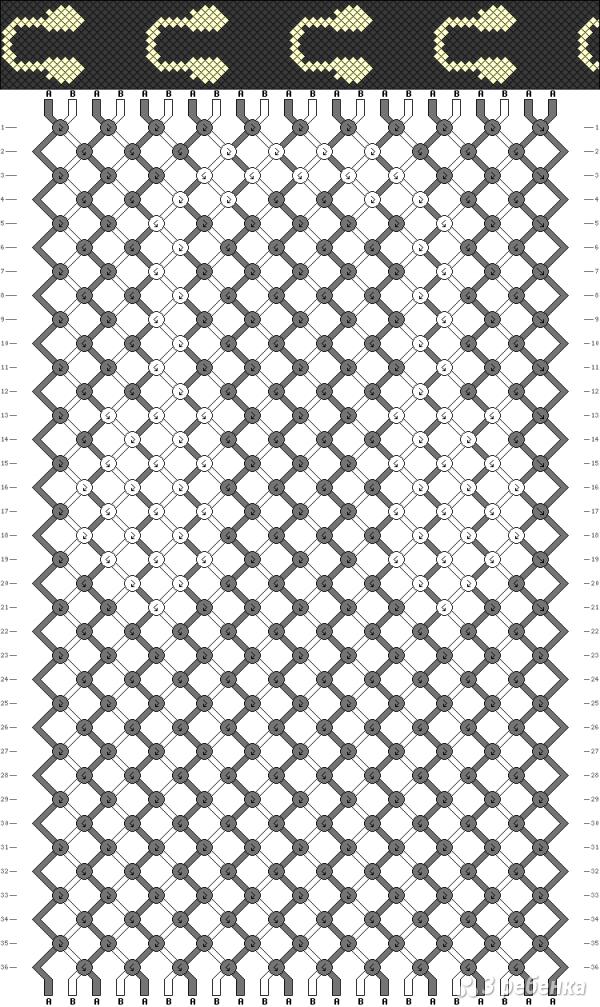Схема фенечки 13938