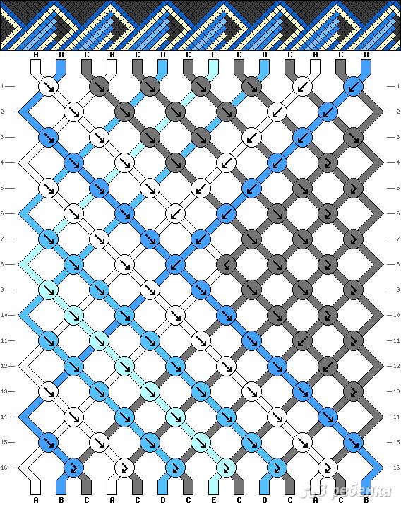 Схема фенечки 15844