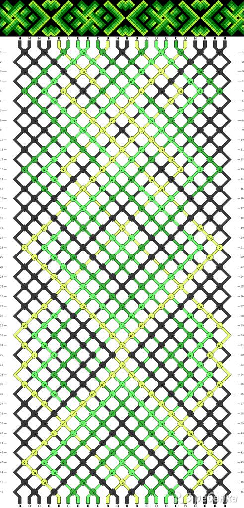 Схема фенечки 13998