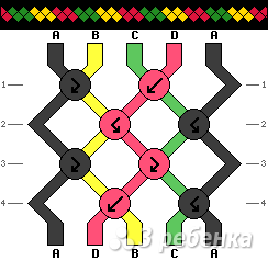 Схема фенечки 13963