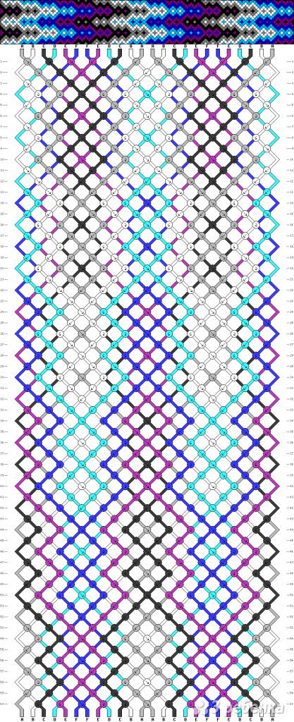 Схема фенечки 13943