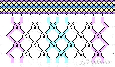 Схема фенечки 13988