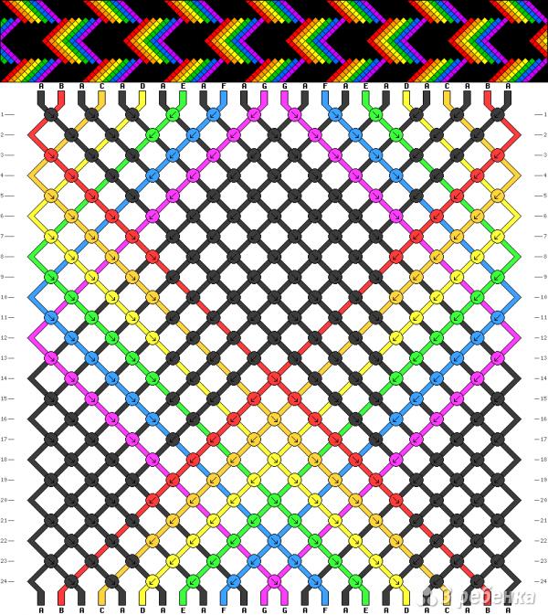 Схема фенечки 15871