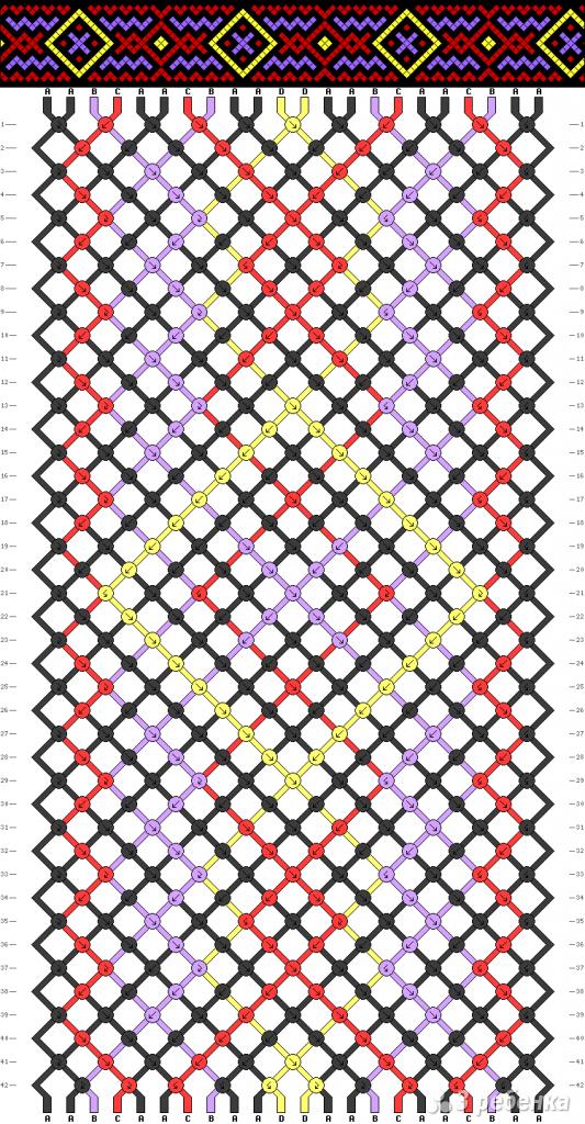 Схема фенечки 14091