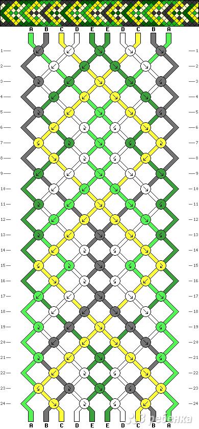 Схема фенечки 13970