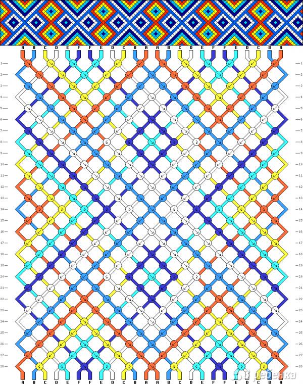 Схема фенечки 15782