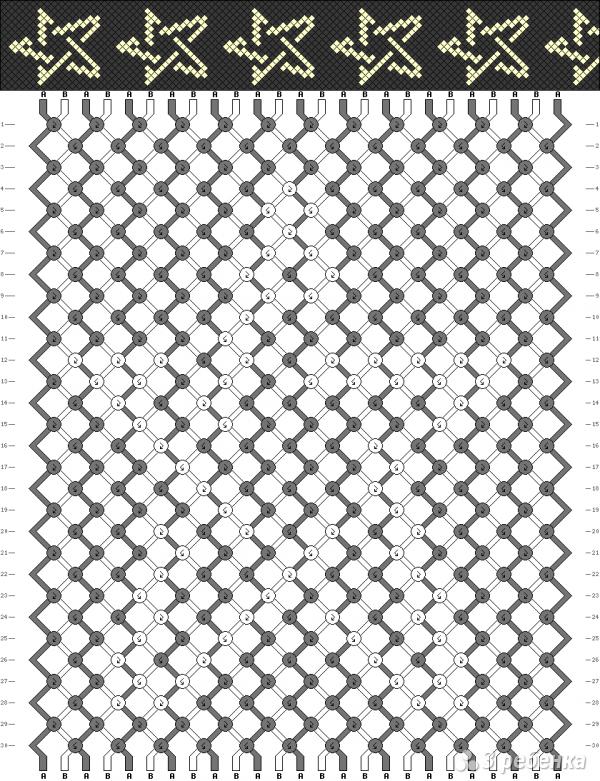 Схема фенечки 13902