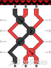 Схема фенечки 14167
