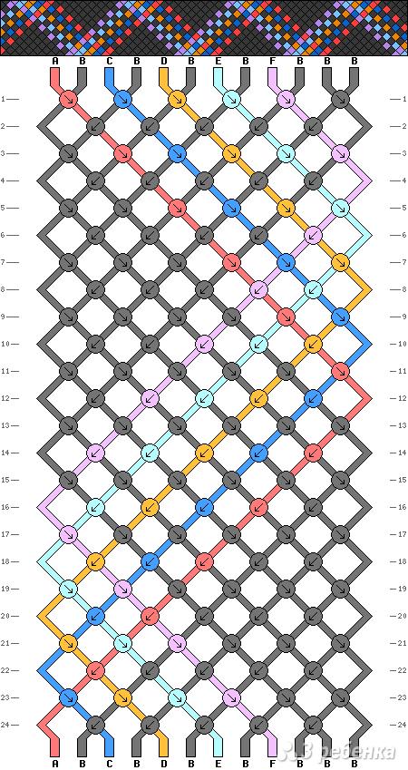 Схема фенечки 13919