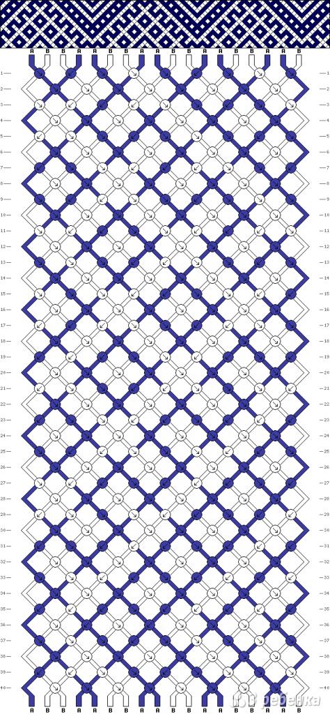 Схема фенечки 14060