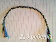Схема фенечки кумихимо 15543